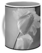 Tulip Black N White Coffee Mug