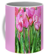 Tulip Bloomies 1 - Pink Coffee Mug