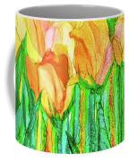 Tulip Bloomies 4 - Yellow Coffee Mug