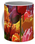 Tulip Confusion Coffee Mug by Sharon Talson