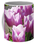 Tulip Garden Flowers Purple Lavender Pastel Art Baslee Troutman Coffee Mug