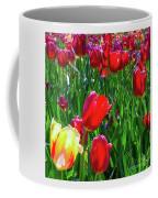 Tulip Garden In Bloom Coffee Mug