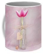 Tulip In Bottle Coffee Mug