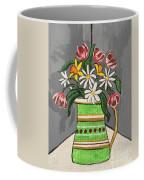 Tulips And Daisies Coffee Mug