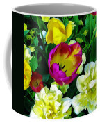 Tulips And Flowers  Coffee Mug