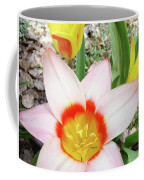 Tulips Artwork 9 Spring Floral Pink Tulip Flowers Art Prints Coffee Mug