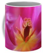 Tulips Artwork Pink Purple Tuli Flower Art Prints Spring Garden Nature Coffee Mug