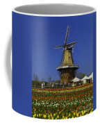 Tulips At The Windmill Coffee Mug