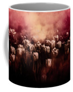 Tulips Burnt Sienna Coffee Mug by Richard Ricci