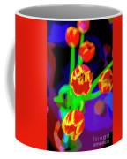 Tulips In Abstract Coffee Mug