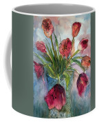 Tulips In Rosie's Vase Coffee Mug