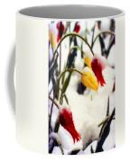 Tulips In The Snow Coffee Mug