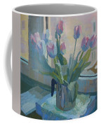 Tulips On A Window  Coffee Mug