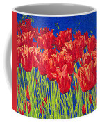 Tulips Tulip Flowers Fine Art Print Giclee High Quality Exceptional Color Garden Nature Botanical Coffee Mug
