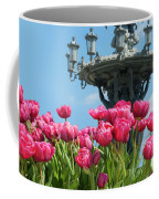 Tulips With Bartholdi Fountain Coffee Mug