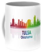 Tulsa Ok 1 Squared Coffee Mug