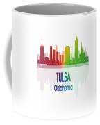 Tulsa Ok 1 Vertical Coffee Mug
