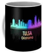 Tulsa Ok 5 Squared Coffee Mug