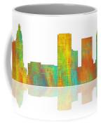 Tulsa Oklahoma Skyline-1 Coffee Mug