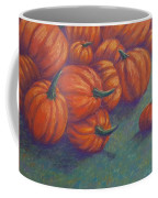 Tumbled Pumpkins Coffee Mug