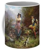 Tumbling Apples Hans Zatzka Coffee Mug