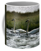 Tundra Swans And Cygents Coffee Mug