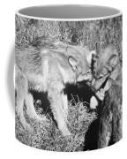 Tundra Wolf Pups Coffee Mug