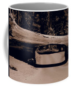 Tunnel Log - Sequoia National Park Coffee Mug