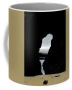 Tunnel To Cannon Beach I Coffee Mug