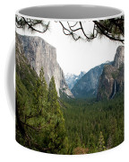 Tunnel View Framed Coffee Mug