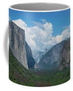 Tunnel View In Yosemite  Coffee Mug