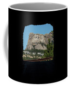 Tunnel View Mt Rushmore 2 B Coffee Mug
