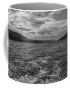 Turbulent Loch Ness In Monochrome 2 Coffee Mug