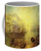 Turner Joseph Mallord William Ancient Italy Ovid Banished From Rome Joseph Mallord William Turner Coffee Mug