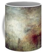 Turner: Sun Setting, C1840 Coffee Mug