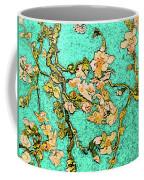 Turquoise Blossom Coffee Mug