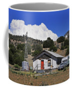 Turquoise Bus Coffee Mug