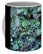 Turquoise Garden Of Glass Coffee Mug