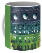 Turquoise Moons Coffee Mug