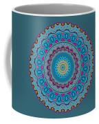 Turquoise Necklace Mandala Coffee Mug