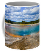 Turquoise Pool, Yellowstone Coffee Mug