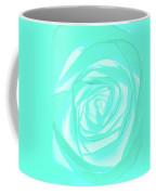 Turquoise Rose Coffee Mug