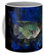 Turquoise Texas Cichlid  Coffee Mug