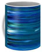 Turquoise Waves Coffee Mug