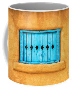 Turquoise Window Shutter Coffee Mug