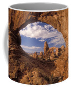 Turret Arch And North Window Coffee Mug