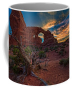 Turret Arch At Sunset Coffee Mug