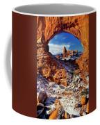 Turret Arch Through North Window Arches National Park Utah Coffee Mug