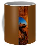 Turret Arch Through North Window Coffee Mug