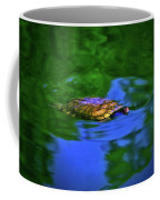 Turtle Coming Up For Air 003 Coffee Mug